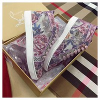 Best Online Sale Christian Louboutin CL Flower Women Louis Flat