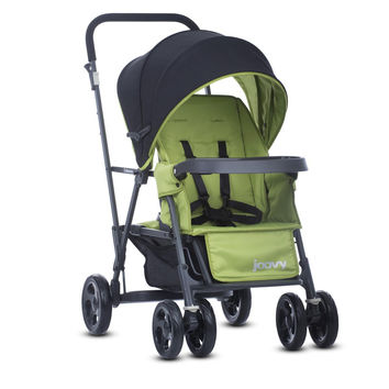 Joovy Caboose Graphite Double Stand-On Tandem  Stroller - Appletree