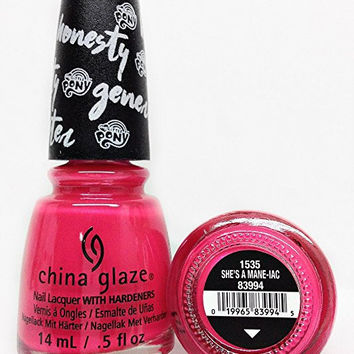 China Glaze Nail Polish 83994 She's A Mane-iac 0.5 oz