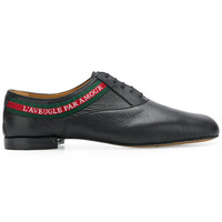 Gucci L'Aveugle Par Amour laced-up Shoes - Farfetch