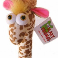Circus Giraffe Stuffed Animal Funny Plush toy | flakyfriends - Limited Run on ArtFire