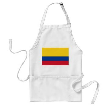 Apron with Flag of Colombia