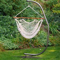 Algoma Hanging Rope Chair - Indoor & Outdoor (Natural)