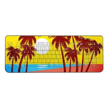 Beach Sunset: Wireless Keyboard