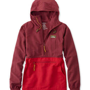 Women's Mountain Classic Anorak, Colorblock | Free Shipping at L.L.Bean