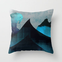 Hostile Environment Throw Pillow by Amelia Senville