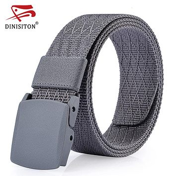 Male Canvas Strap Army Tactical Belt High Quality Military Equipment Cinctures Hombre Nylon Belts For Men