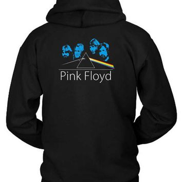 CREYH9S Pink Floyd Facer Hoodie Two Sided
