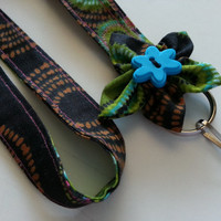 CustomFabric Lanyard ID Badge Holder