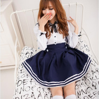 College lolita sweet dress