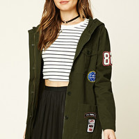 Patched Cargo Jacket