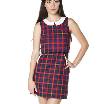 Juniper Plaid Dress - Hello Holiday