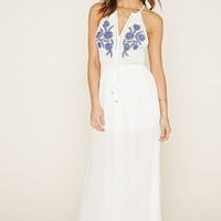 Embroidered Maxi Dress | Forever 21 - 2000187321