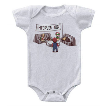 Intervention Baby Onesuit