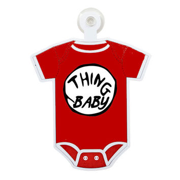 Dr. Suess Thing Baby Custom Printable Digital Iron On Transfer Clip Art DIY Tshirts Onesuits Instant Download
