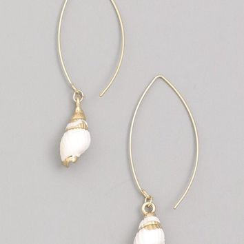Seashell Wire Earrings