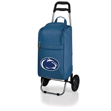 Penn State Nittany Lions Cart Cooler with Trolley-Navy Digital Print