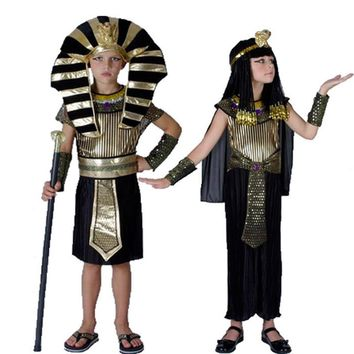 Egyptian Pharaoh & Princess Costumes
