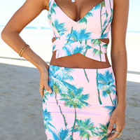 Tropicana Palm Set | SABO SKIRT