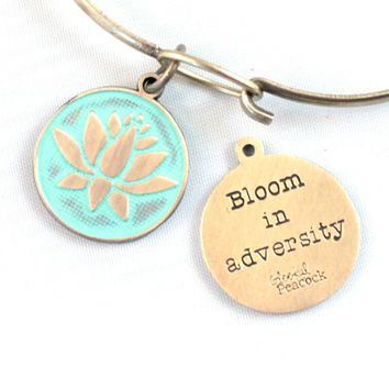 Bloom In Adversity Token Charm