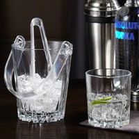 Belmont Cocktail Glasses and Ice Bucket Set, Set of 7