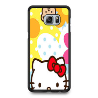 Hello Kity Patterns Samsung Galaxy S6 Edge Plus Case
