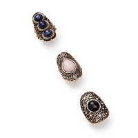 Filigree Ring Set