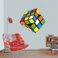 Modern , Urban and Contemporary - Rubik´s Cube - Wall Decals , Home WallArt Decals