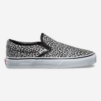 VANS Mini Leopard Classic Slip-On Womens Shoes