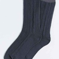 Cable Knit Premium Sock