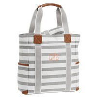 Striped Harper Diaper Totes