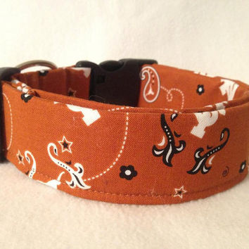 Texas Longhorns Martingale or Quick Release Collar