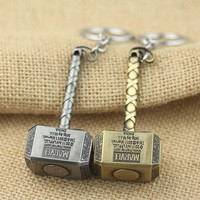 Thor Hammer Type Metal KeyChain For Avengers