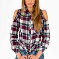 Jack Plaid Button Up Shirt $58
