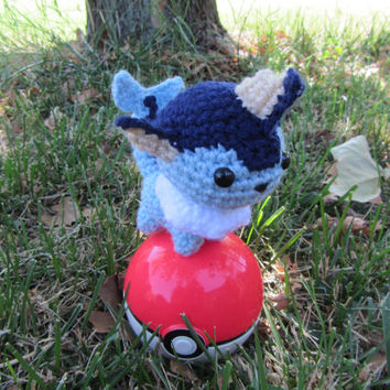 Made to Order - Chibi Pokemon Amigurumi - Vaporeon