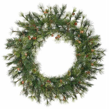 Artificial Christmas Wreath - Mixed Country Pine