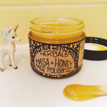 Masa + Honey Face Polish