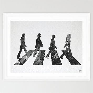 Beatles Watercolor illustration Art Print,Nursery/Kids Art Print,Home decor,Wedding,Birthday Gift, Rock print,#212