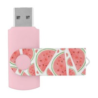 Watercolour Watermelon - USB Flash Drive