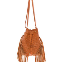 Believer Fringe Purse - Tan