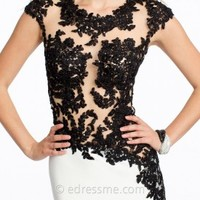 Illusion Lace Jersey Prom Dresses by Jovani Exclusive Collection for eDressMe