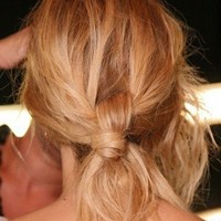 Summer 2011 Messy Updo Trends