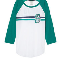 Seattle Mariners Bling Perfect Baseball Tee - PINK - Victoria's Secret