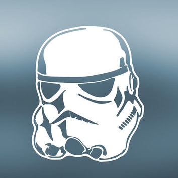 Stormtooper Decal | Stormtrooper Sticker | Storm Trooper Yeti Vinyl Decal | Star Wars | Rebel Alliance | Jedi | Yoda | Death Star | 385