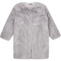 I LOVE GORGEOUS - Faux fur heart coat 2-11 years | Selfridges.com