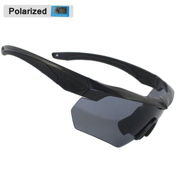 ESS CROSSBOW Military Goggles 3/5Lens TR 90 Men Sunglasses military man Army Bulletproof Outdoor Airsoft Shooting glasses