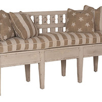 One Kings Lane - A Relaxed Reception - Washington Storage Bench