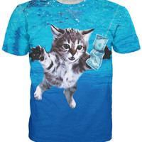 Cat Cobain T-Shirt *Ready to Ship*