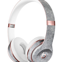 Grungy Gray Concrete Surface Full-Body Skin Kit for the Beats by Dre Solo 3 Wireless Headphones