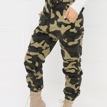 Bold Soldier Pant - Camouflage